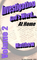 Investigating God's Word...At Home (NIV), Vol. 2