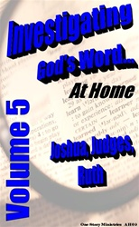 Investigating God's Word...At Home (NIV), Vol. 5