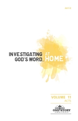 Investigating God's Word...At Home (ESV), Vol. 11