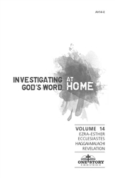 Investigating God's Word...At Home (ESV), Vol. 14